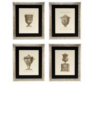 Impresiones artísticas Giovanni Battista (set de 4)