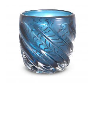 Jarrón Angelito S color azul