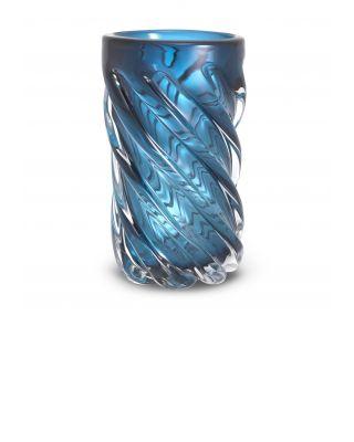 Jarrón Angelito L color azul