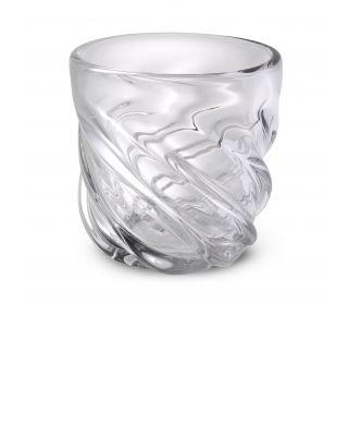 Jarrón Angelito S cristal transparente