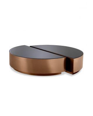 Mesas de centro Astra acabado de cobre (set de 2)