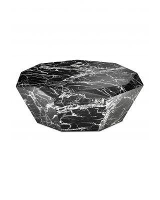 Mesa de centro Diamond acabado marmól negro