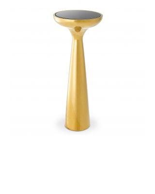 Mesa auxiliar Lindos modelo alto y dorado