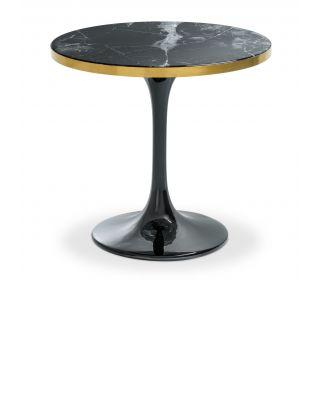 Mesa auxiliar Parme de Eichholtz color negro