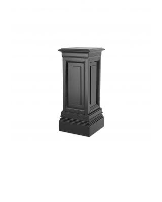 Columna Salvatore S de Eichholtz con acabado negro 80 cm