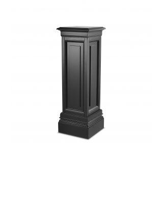 Columna Salvatore M de Eichholtz con acabado negro 100 cm