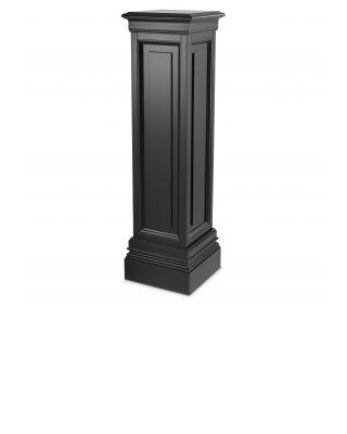 Columna Salvatore L de Eichholtz con acabado negro 120 cm