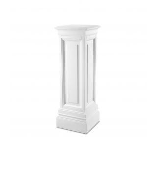 Columna Salvatore M de Eichholtz con acabado blanco 100 cm