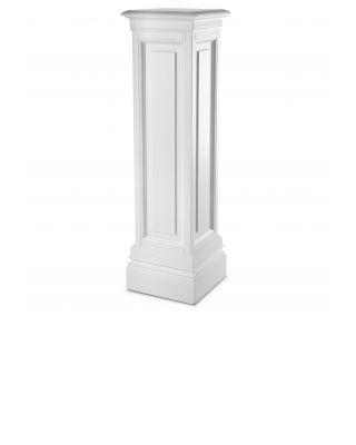 Columna Salvatore L de Eichholtz con acabado blanco 120 cm