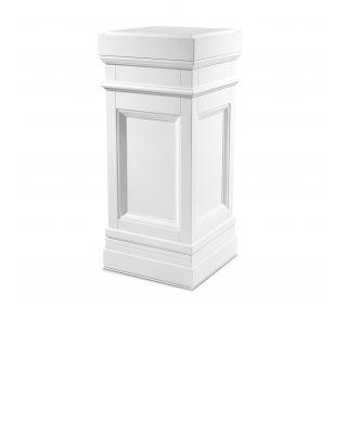 Columna Marceau de Eichholtz con acabado blanco