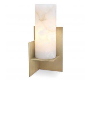 Lámpara de mesa Frisco latón dorado