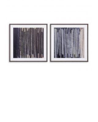 Impresiones artísticas Thierry Montigny I set de 2