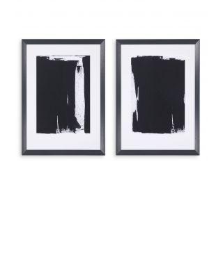 Impresiones artísticas Thierry Montigny II set de 2