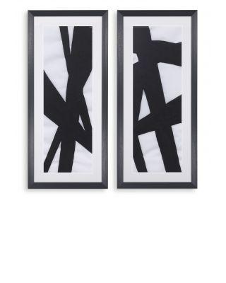 Impresiones abstractas de Allan Stevens (set de 2)