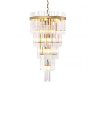 Lámpara de araña Yara L de Eichholtz