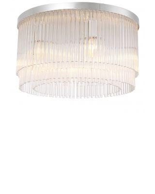 Lámpara de techo Hector de Eichholtz acabado niquelado