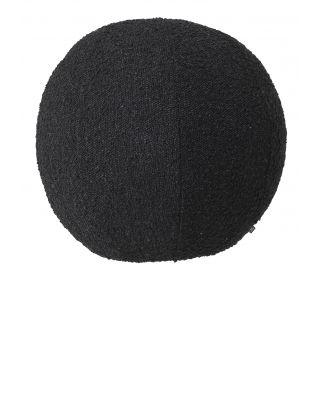 Cojín Palla L Bouclé Black de Eichholtz