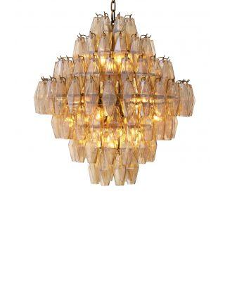 Lámpara de araña Benini L Gold