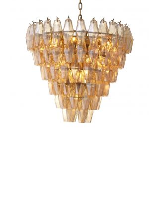 Lámpara de araña Benini S Gold