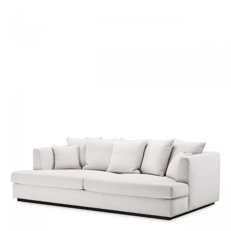 Sofá Taylor Lounge de Eichholtz blanco de Avalon