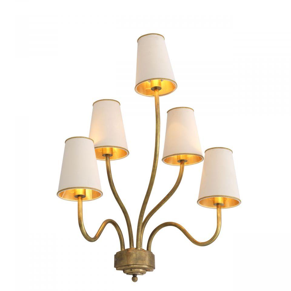 Lámpara de pared Bergerac M