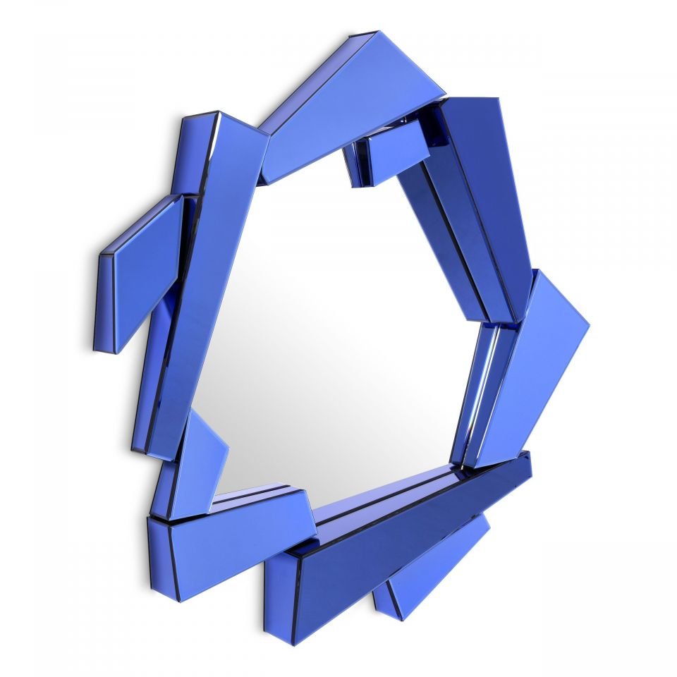 Espejo Cellino azul de Eichholtz