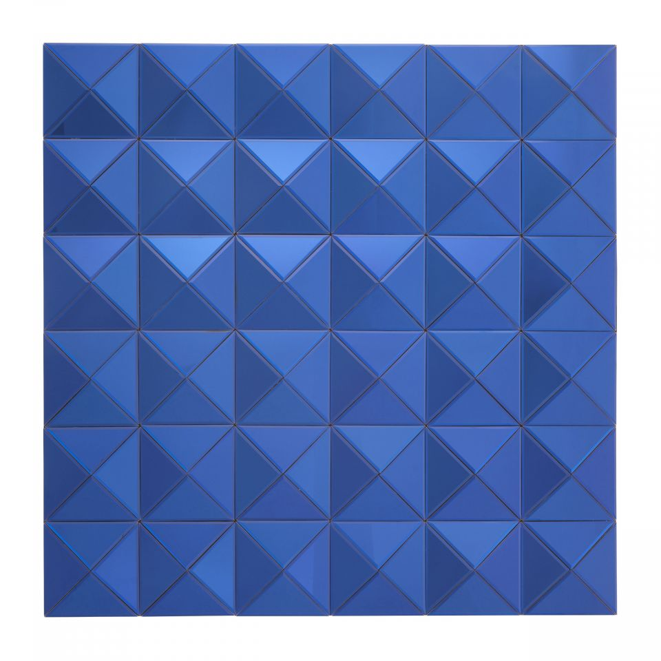 Espejo Savoia azul de Eichholtz